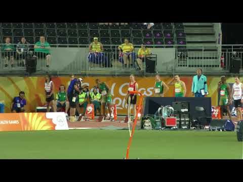 100m T38 Final  Evan O'Hanlon 11.09 +0.8 Gold Coast 2018