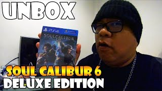[Unbox] เกม PS4 Soulcalibur VI DELUXE EDITION : กล่องเหล็กสวยงาม