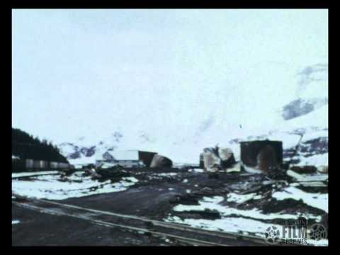 Scenes at Whittier following 1964 earthquake