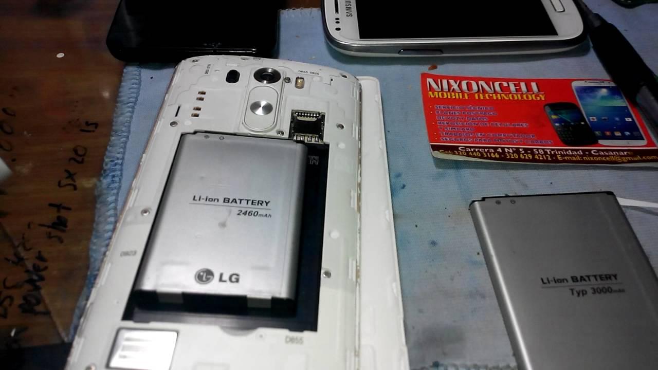 7dc90c7f5c4 solution lg G3, G4 optimus se reinicia pantalla, prende y apaga lcd -  YouTube