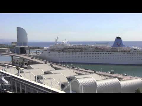 Views of the Port of Barcelona from the MSC Splendida, Spain - 11th July, 2014