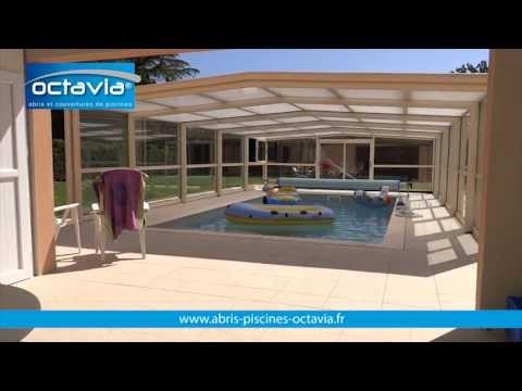 abri haut de piscine t lescopique octavia abris piscines youtube. Black Bedroom Furniture Sets. Home Design Ideas