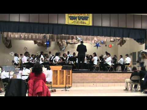 James Madison Middle School Winter Concert 2010 - Part 2 of 3
