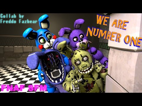 We Are Number One but it's a [FNAF SFM] Collab