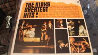 THE KINKS - A DEDICATED FOLLOWER OF FASHION - GREATEST HITS LP RECORD