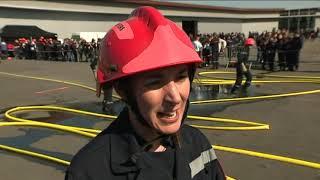 Formation de jeunes sapeurs pompiers du Val d'Oise