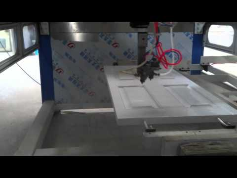 YICH 2500D 5 Alxis CNC Spraying Paint Machine/Painting Machine