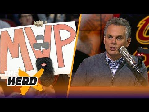 Colin Cowherd on the Vegas odds for NBA MVP | NBA | THE HERD
