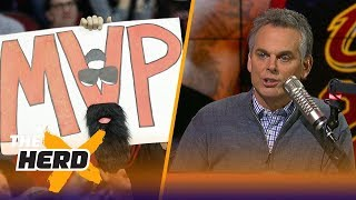 Colin Cowherd on the Vegas odds for NBA MVP | NBA | THE HERD