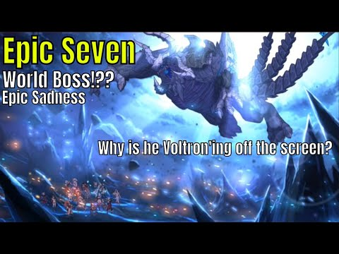 Epic Seven: Raid Boss!!! Where is the boss jumping to?