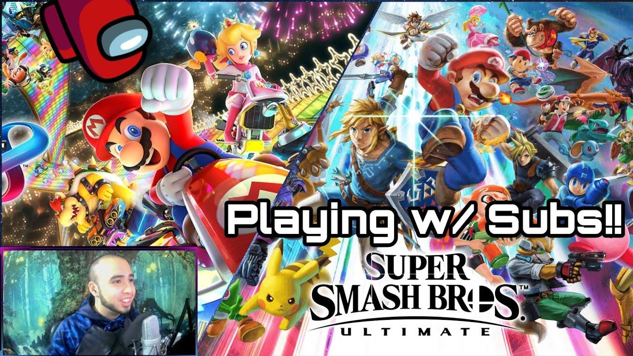 ? ? Super Smash Bros Ultimate & Mario Kart 8: Deluxe!! PART 1! ARENA w/ Subs!! #LIVE #Nintendo