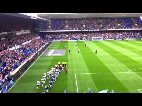Ipswich Town v Millwall Players Entrance 2013/14