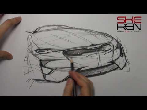 Car sketch & Design(Kia Stinger)