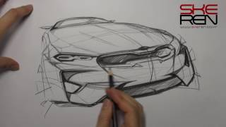 Car sketch & Design(Kia Stinger)