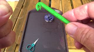 EASY FISHING. 2 Essential knots how to tie them with Bill Allen