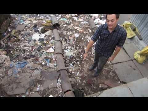 Public Toilet in the Slums of Mumbai, India
