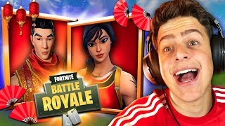 I BOUGHT THE LUNAR SKINS AT FORTNITE: BATTLE ROYALE!!!! ‹ JonPlays ›