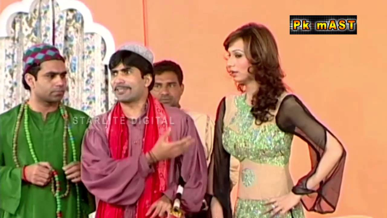 Best of Deedar and Sajan Abbas Stage Drama Full Comedy Clip   Pk Mast