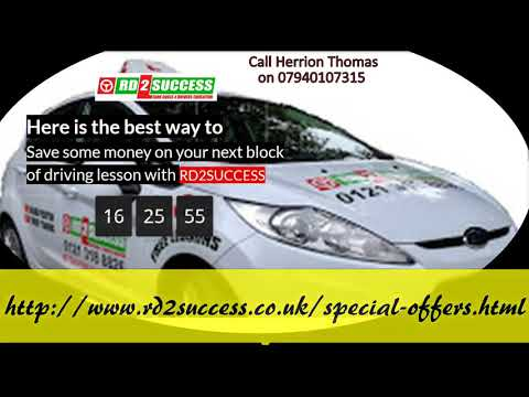 Driving Lessons West Bromwich - Driving Instructors & Schools - Rd2success