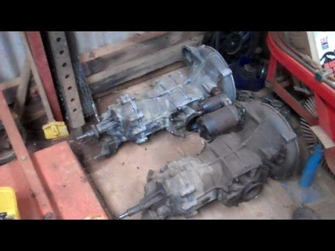 Vw Beetle Transmission Removal Youtube