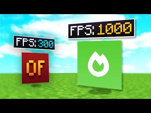 1000 FPS In Minecraft With These NEW MODS!