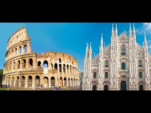 Mil o it lia pontos turisticos imagens a reas youtube for Be italia