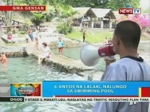 Bp 4 Anyos Na Lalaki Nalunod Sa Swimming Pool Sa General Santos City Youtube