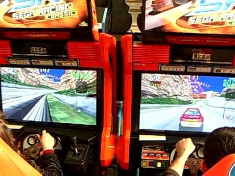 Видео Игровой автомат sega