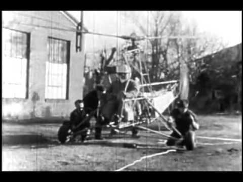 Piasecki PV-2 first flight, April 1943