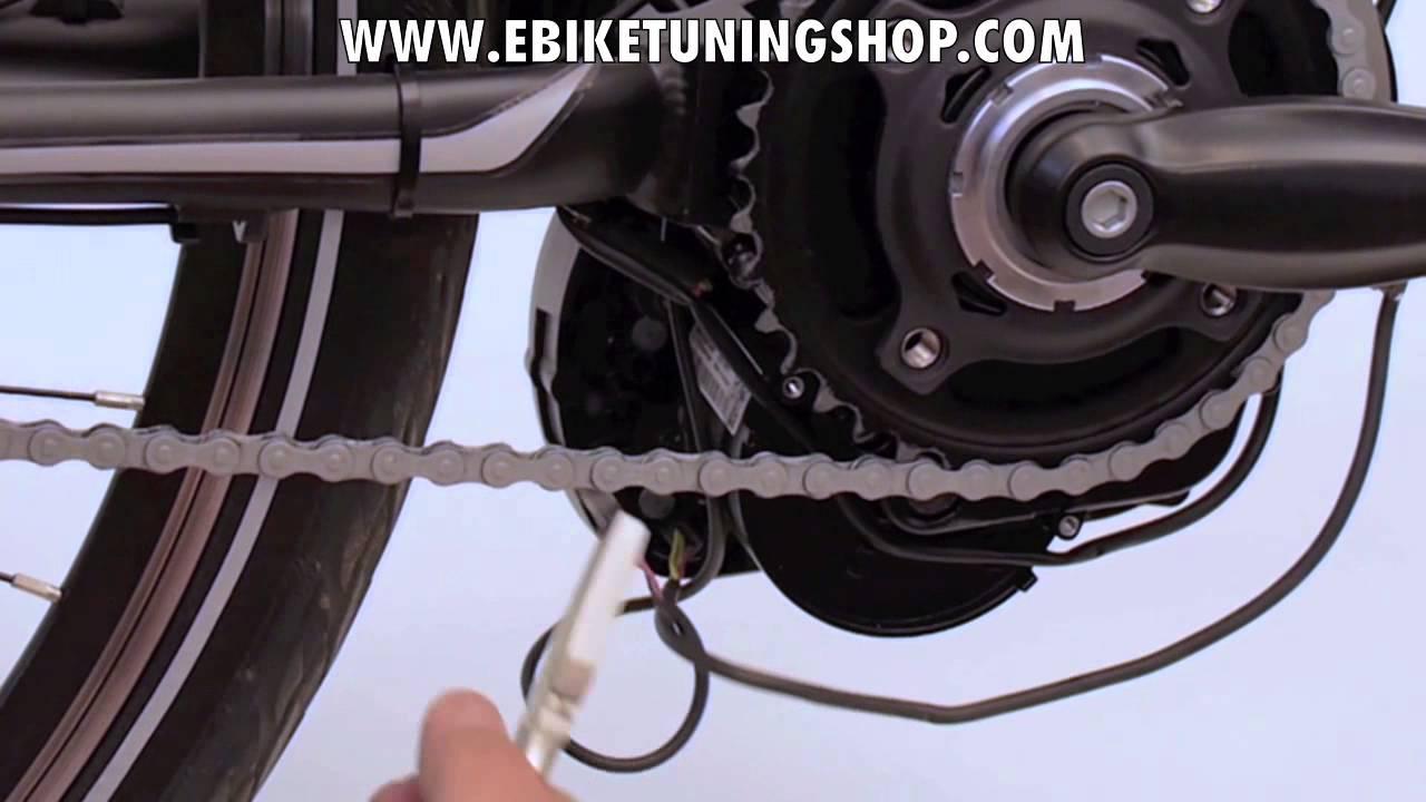 bosch ebike motor tuning