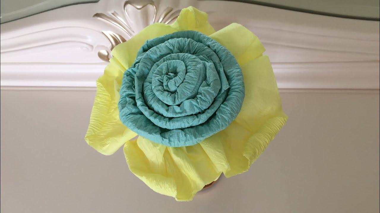Роза из салфеток. Декор для стола. Как красиво украсить ...