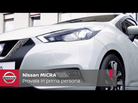 Nuova Nissan Micra – Provala in prima persona