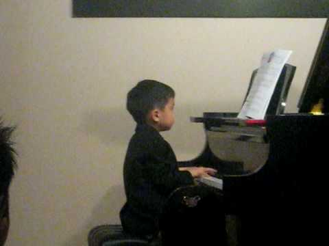 Timmy's 1st Piano Recital