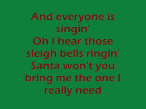 All I Want For Christmas Is You - Lyrics - My Chemical Romance ...