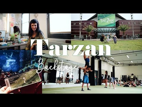 BACKSTAGE BEI TARZAN | Musical Vlog