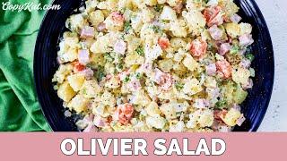 Russian Potato Salad - Salade Olivier