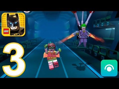 LEGO Batman Movie Game - Gameplay Walkthrough Part 3 - Robin (iOS, Android)