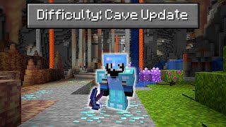 Can You Beat Mine¢raft on the NEW 1.17 Cave Update?
