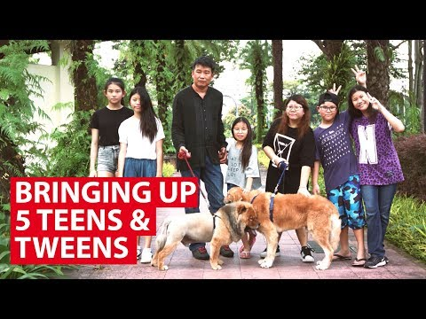 Space Crunch at the Lims': Bringing Up 5 Teens & Tweens in Singapore | On The Red Dot | CNA Insider