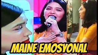 MAINE MENDOZA EMOSYONAL NG MATAPOS ANG LITTLE MISS PHILIPPINES! FANS MAY MESSAGE KAY MAINE!