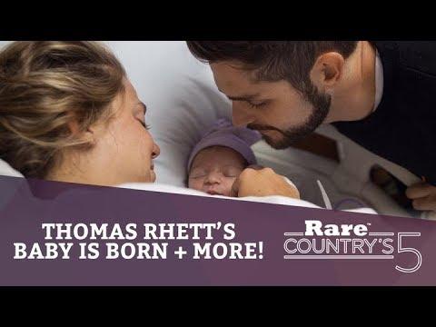 Thomas Rhett's Baby Is Born + More | Rare Country's 5