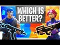 The BIGGEST DRAMA in Fortnite - GOLD P90 vs BLUE SMG - WHICH is better?
