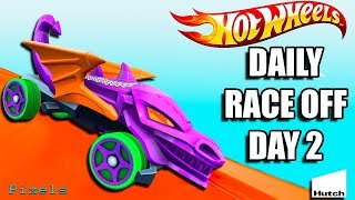 Hot Wheels Race Off - Daily Race Off Day 2 New Rewards