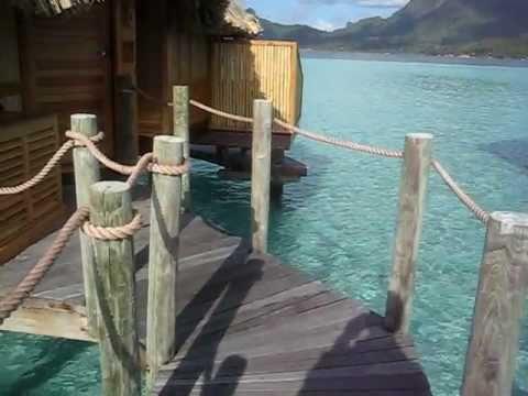 Overwater bungalow walkthrough at Bora Bora Pearl Beach ...