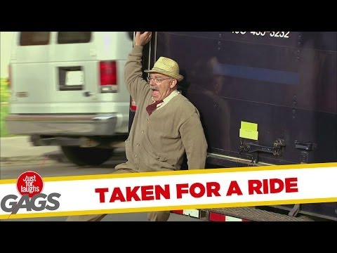 Disabled Man Taken for a Ride Prank