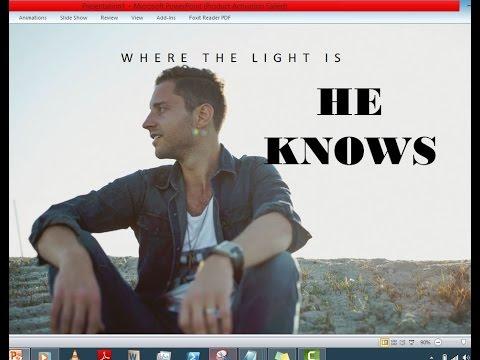 Dan Bremnes - He Knows (Lyrics)