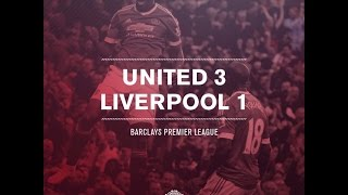 manchester united 3 1 liverpool orange county fans reaction 12 09 2015