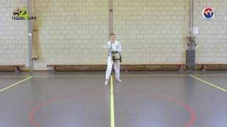 Chang-Hun - Thuistraining Taekwon-Do Kids les 1