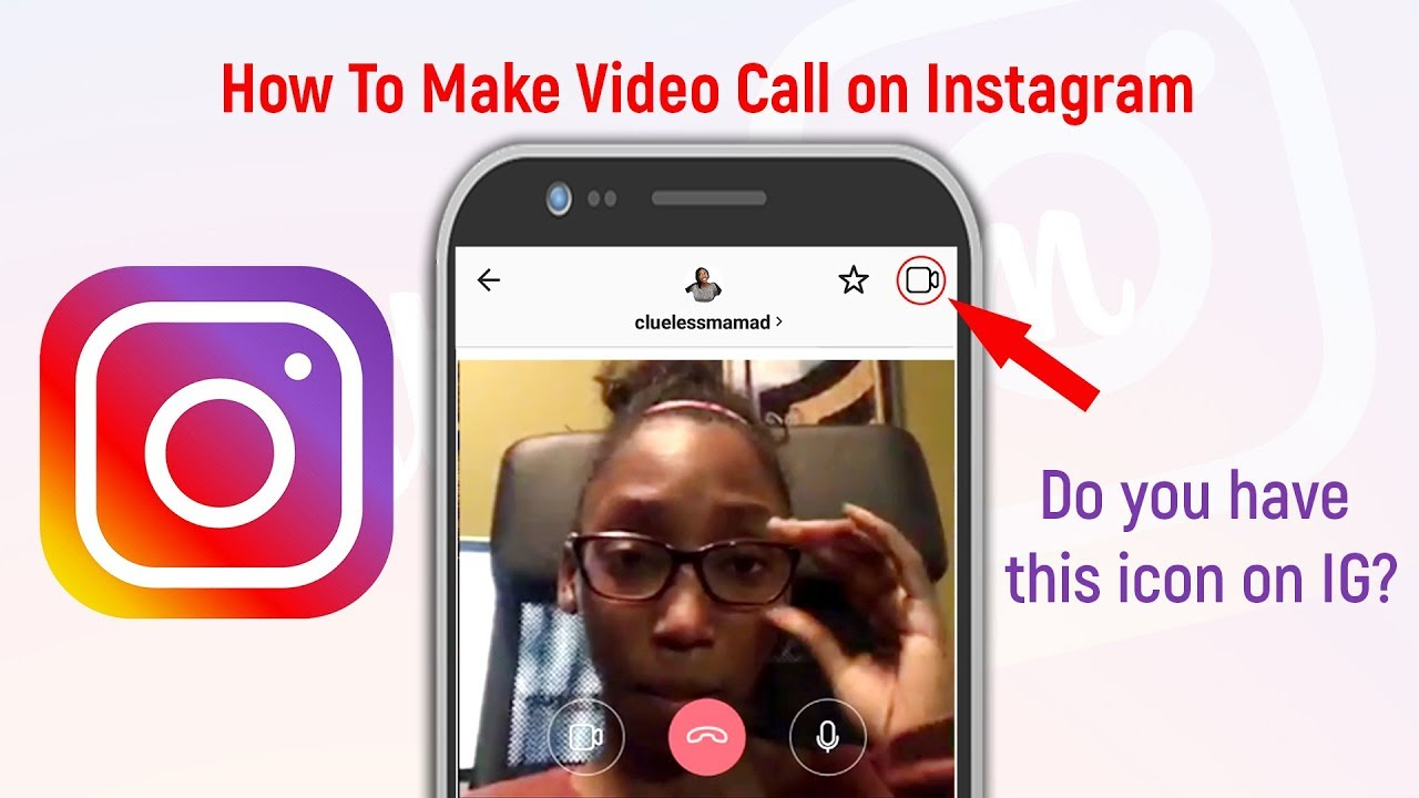How To Make INSTAGRAM VIDEO CALL | Instagram VIDEO CALL Update | Feat   Clueless Mama D