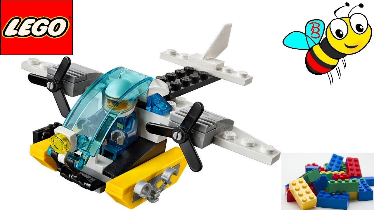 lego 30346 City police water plane free from the daily